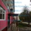 Покраска козырьков над входом