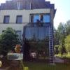 Мойка стеклянной крыши