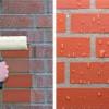 гидрофобизация кирпичной стены